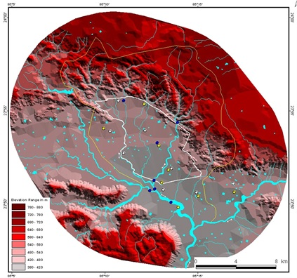 Digital Elevation Model: A GIS product